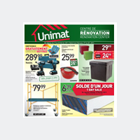 Circulaire Unimat - Flyer - Catalogue